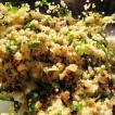 Quinoa salad with lemon and cashew nuts