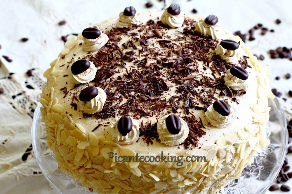 "Kawowy tort ""mocca"""