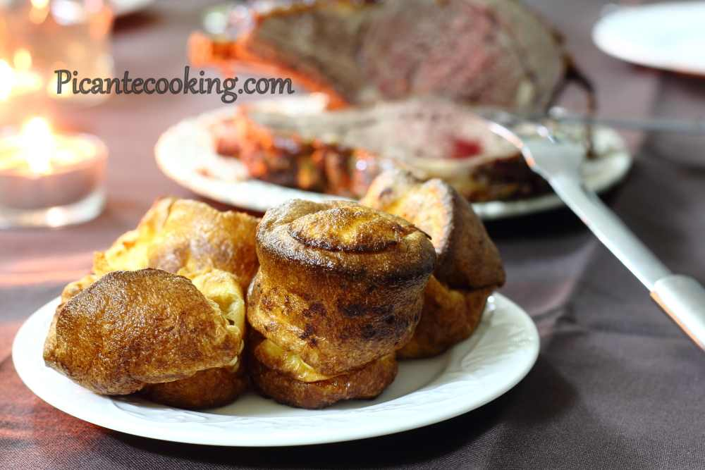 Йоркширські пудинги (Yorkshire puddings)