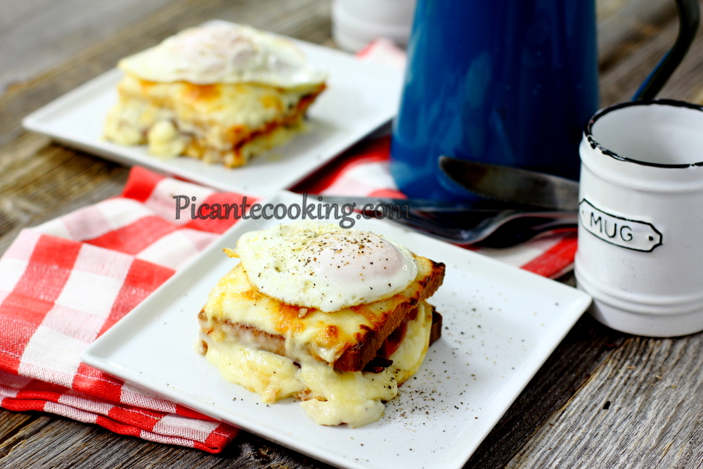 Tosty croque madame