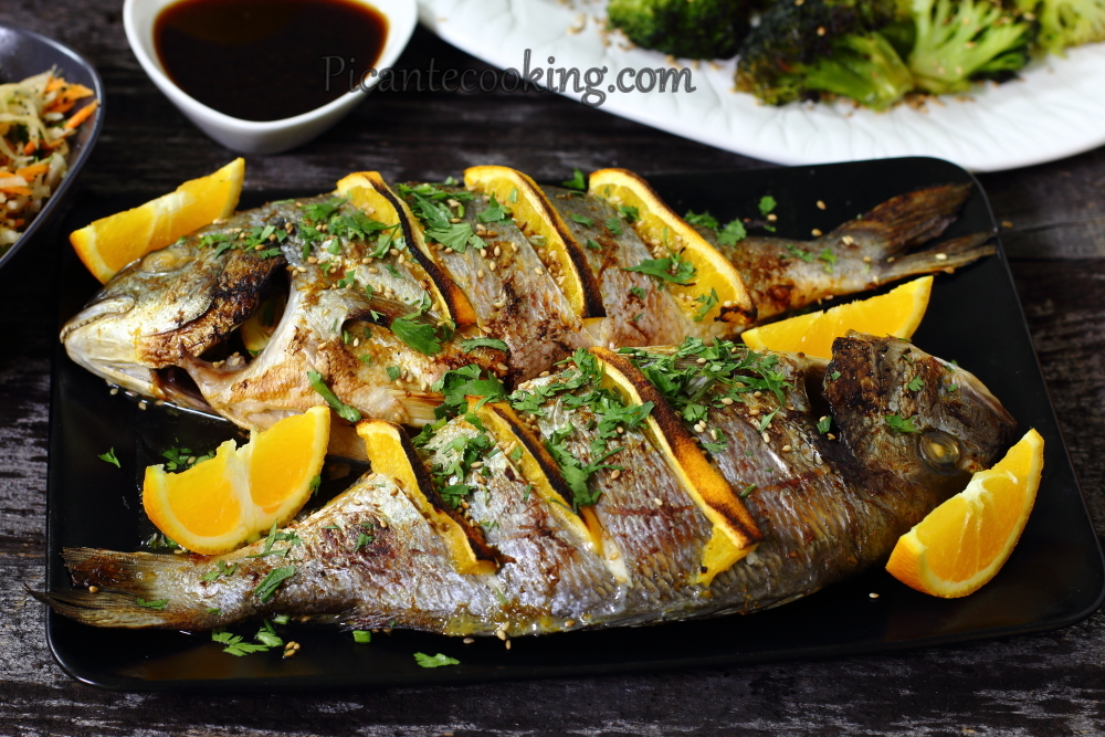 Sea bream with oranges10.JPG
