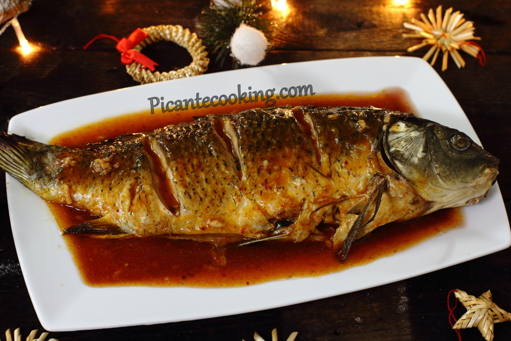 Carp in sweet and sour sauce13.JPG