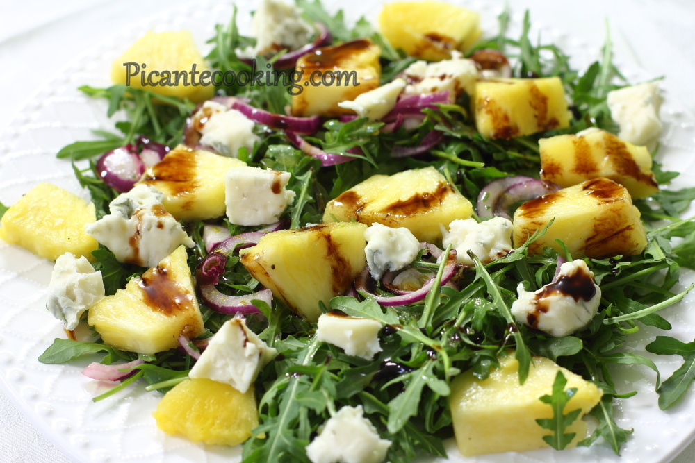 Chicken pine apple salad5.JPG