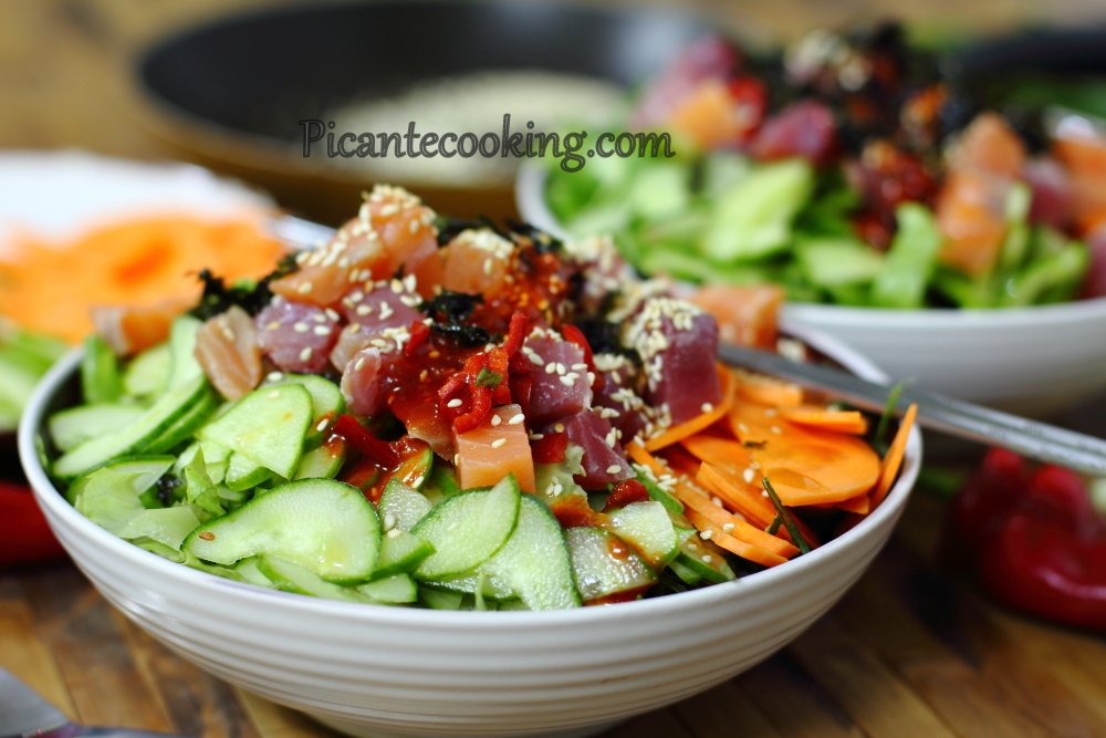 Korean sushi salad13.JPG