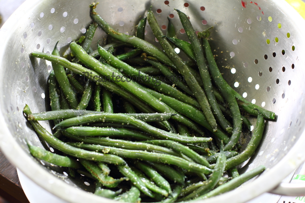 String beans in bacon2.JPG