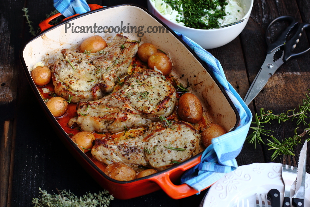pork cutlets with potatoes14.JPG