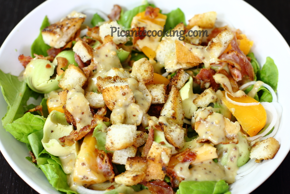 Bacon avocado salad7.JPG