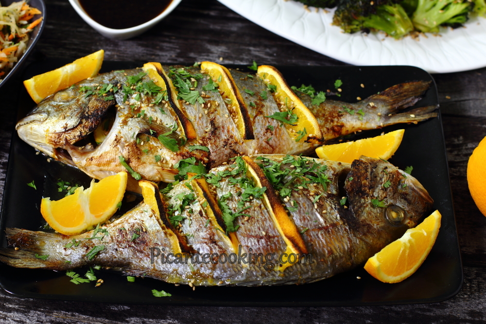 Sea bream with oranges12.JPG