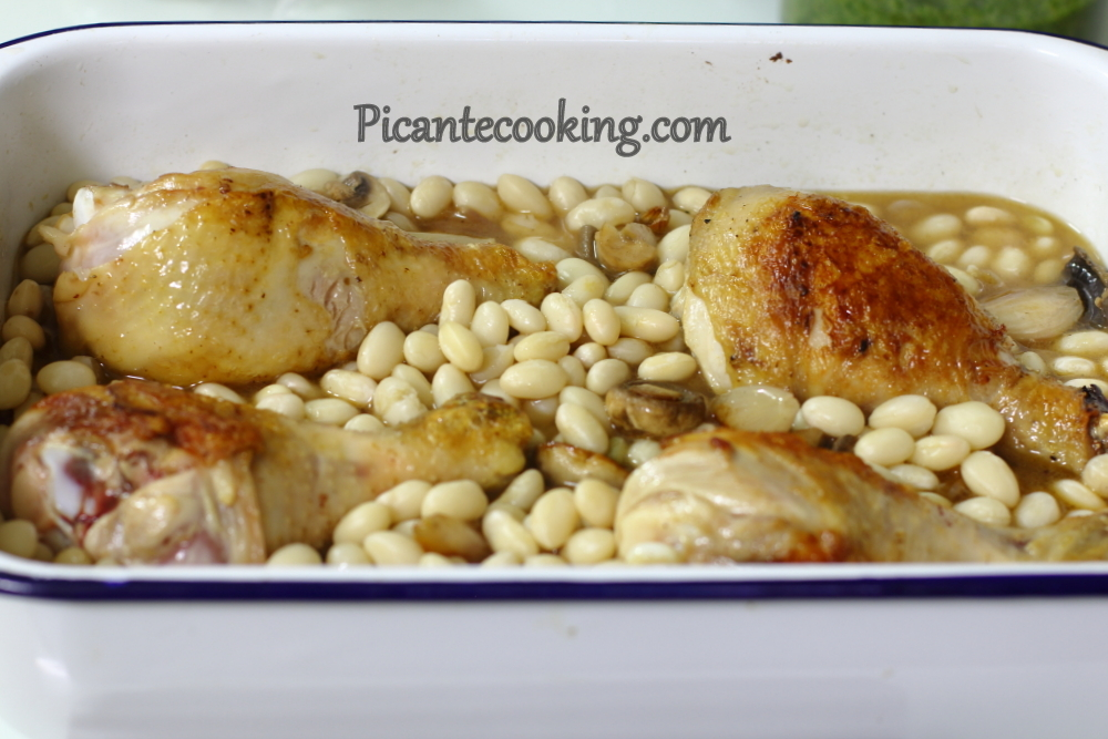 Chicken and beans with parsley6.JPG