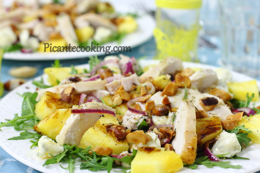 Chicken pine apple salad11.JPG