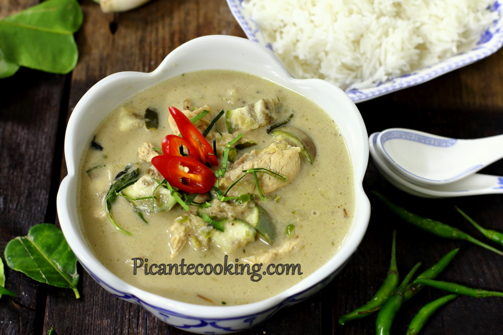 Green curry chicken10.JPG