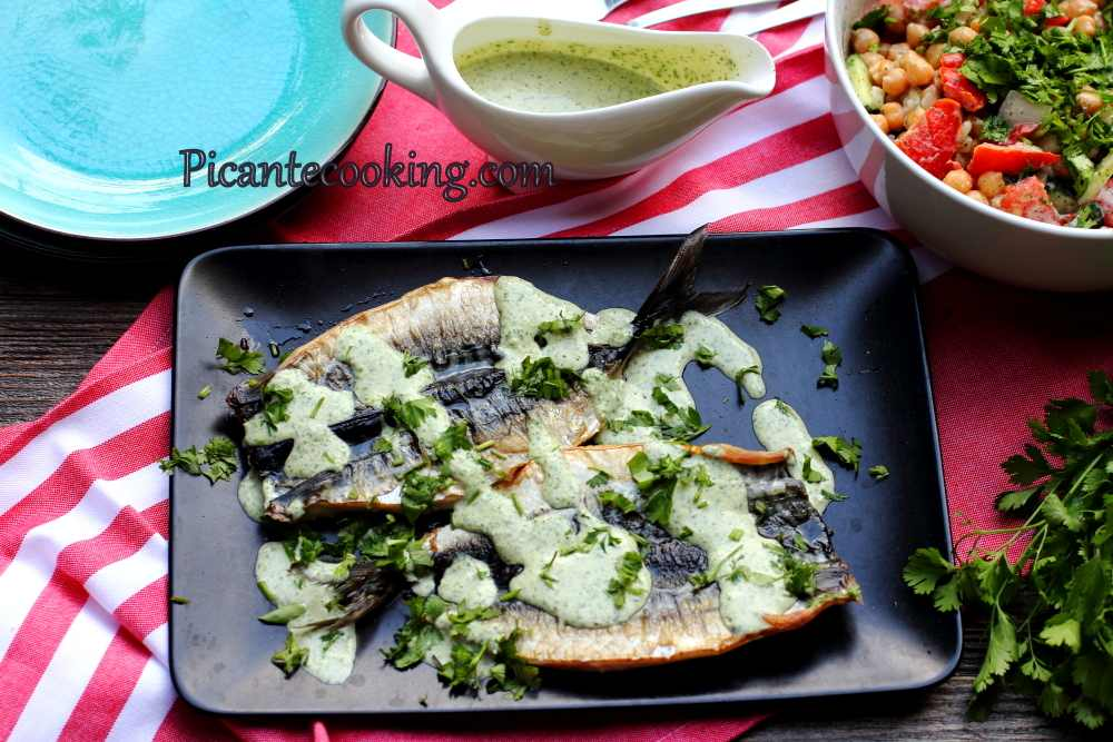 Mackerel_with_herb_tahini_sauce8.JPG