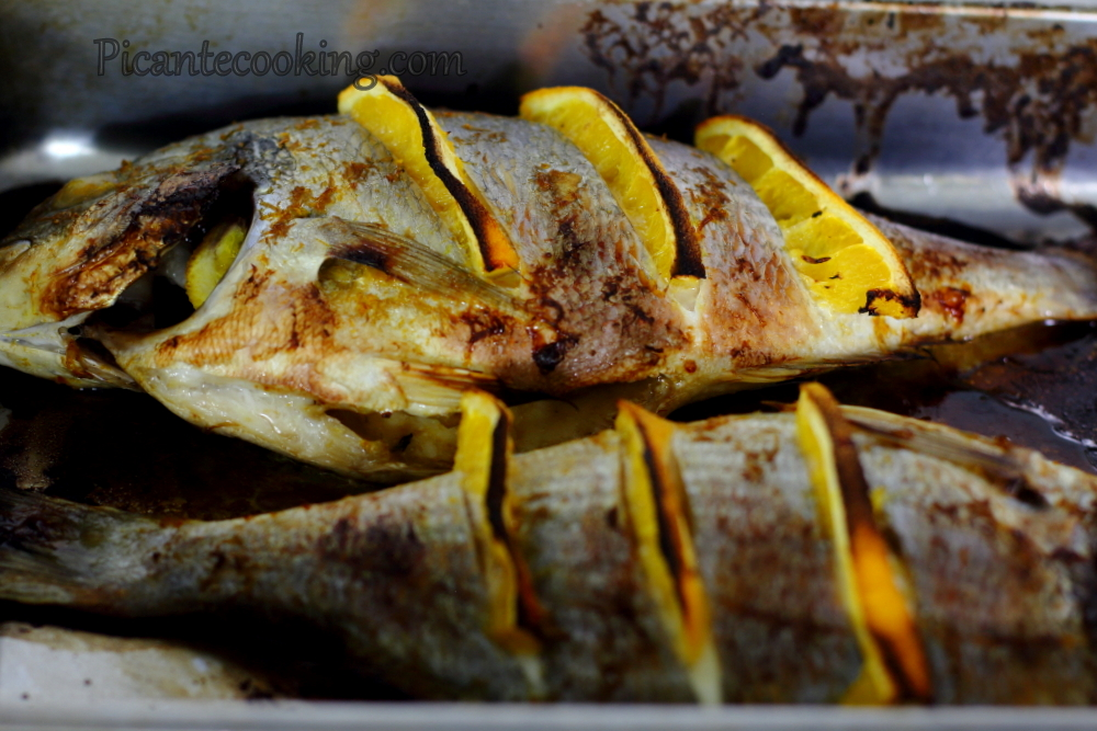 Sea bream with oranges7.JPG