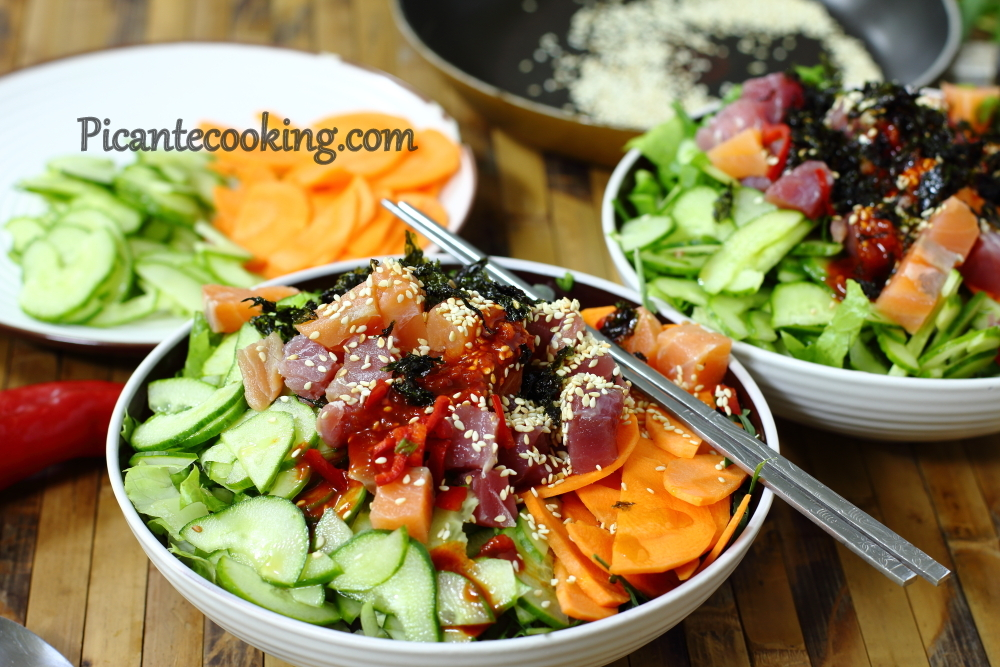 Korean sushi salad8.JPG