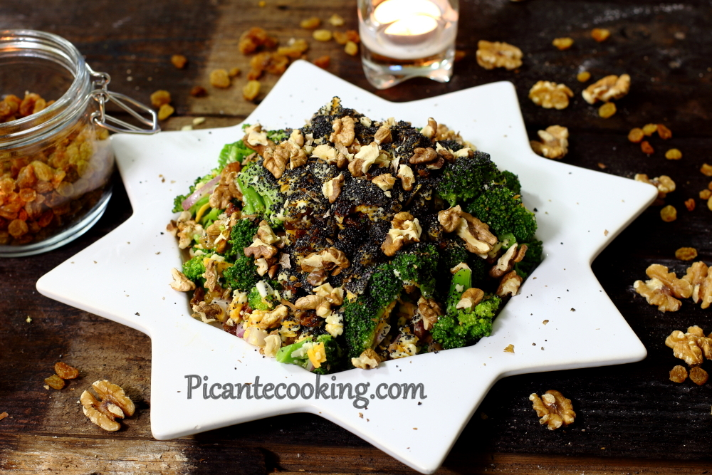 Broccoli raisins salad12.JPG