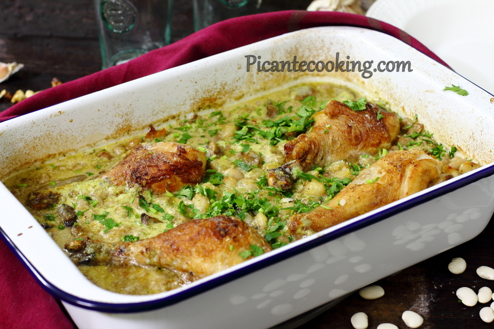Chicken and beans with parsley9.JPG