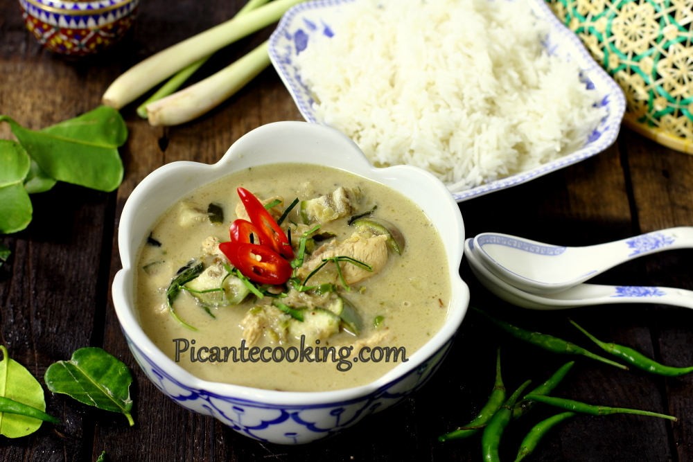 Green curry chicken9.JPG