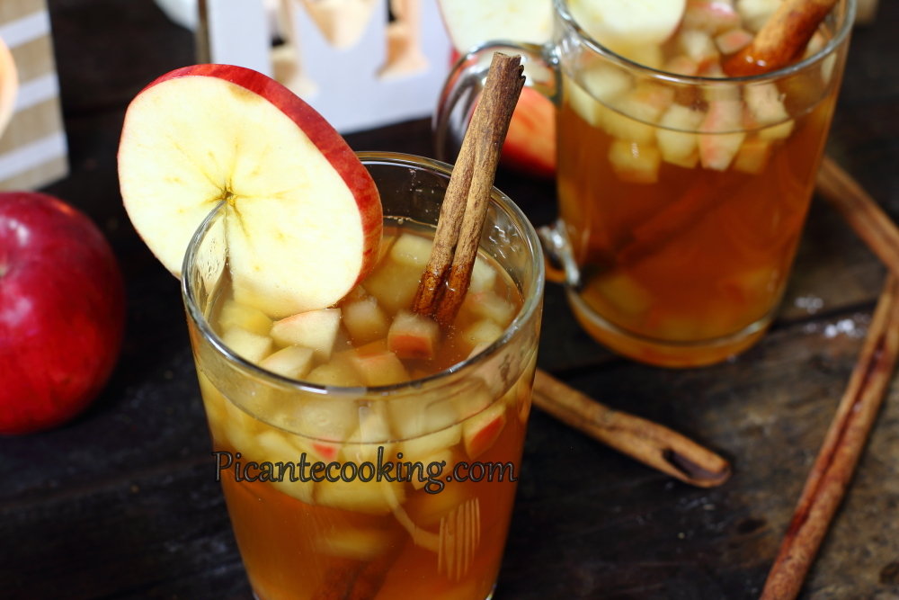 apple juice with honey10.JPG