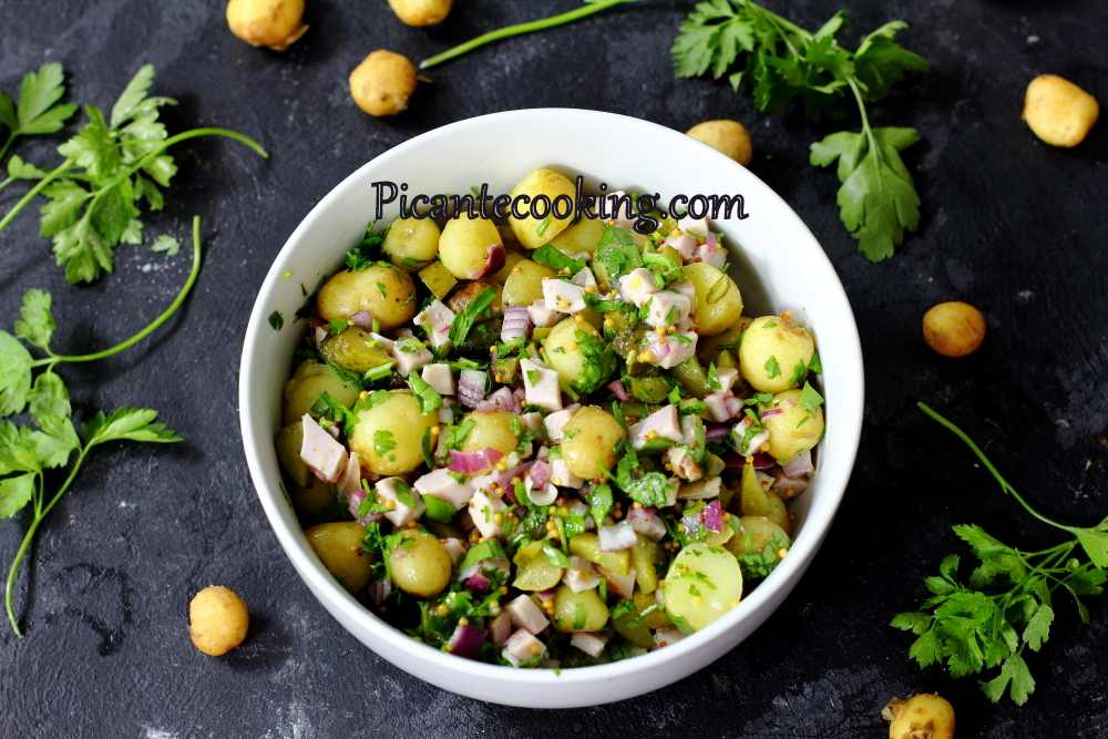 New_potatoes_ham_salad4.JPG