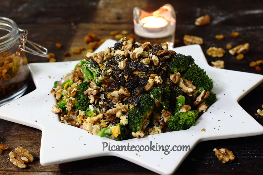 Broccoli raisins salad17.JPG
