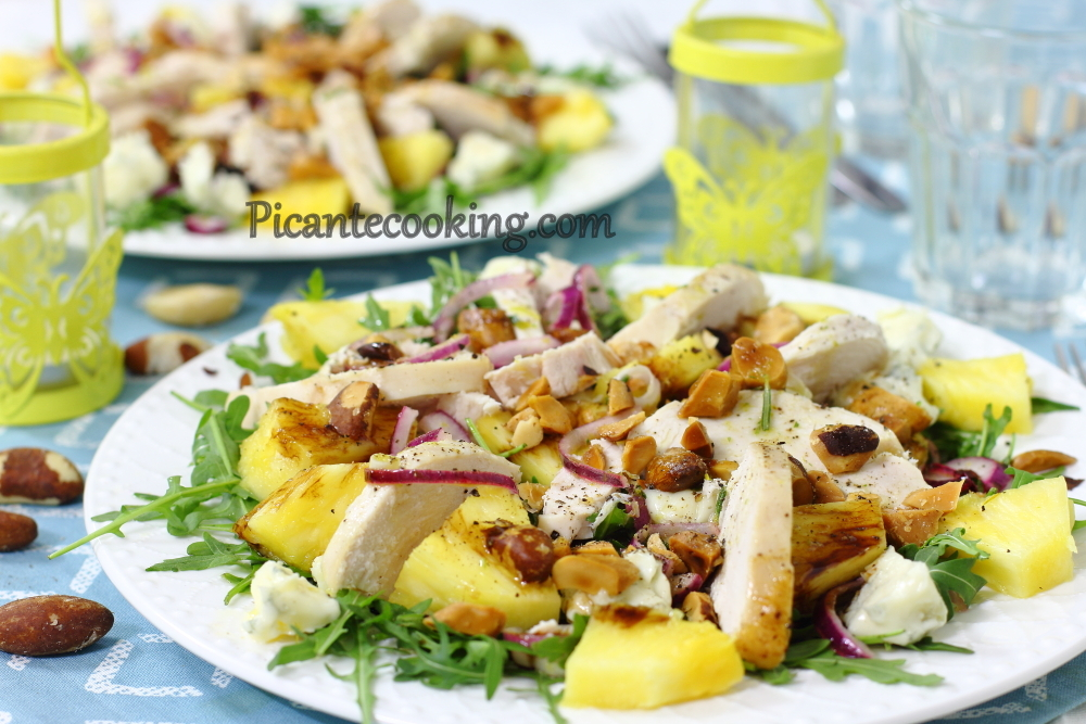 Chicken pine apple salad12.JPG