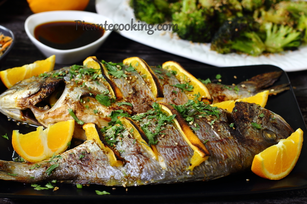 Sea bream with oranges9.JPG
