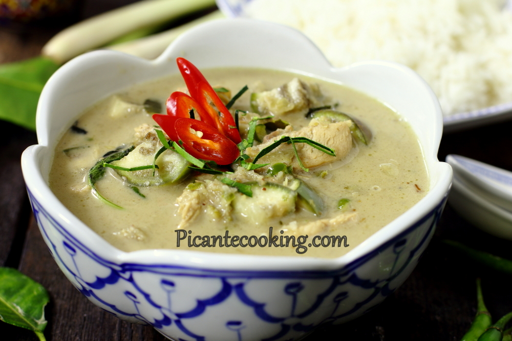 Green curry chicken11.JPG