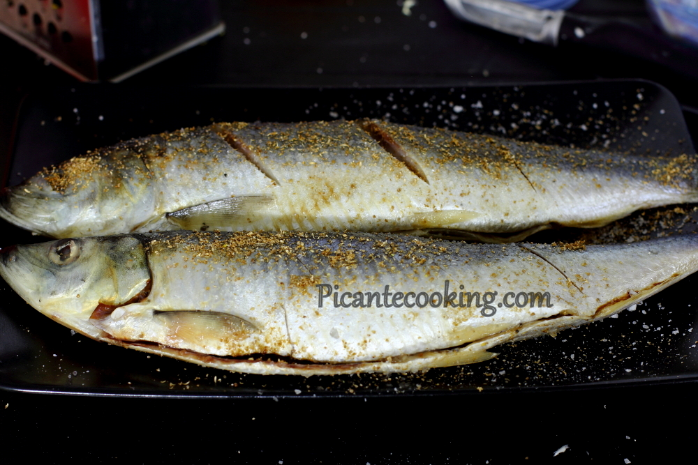 Herring with coriander1.JPG