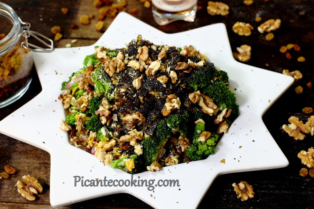 Broccoli raisins salad13.JPG