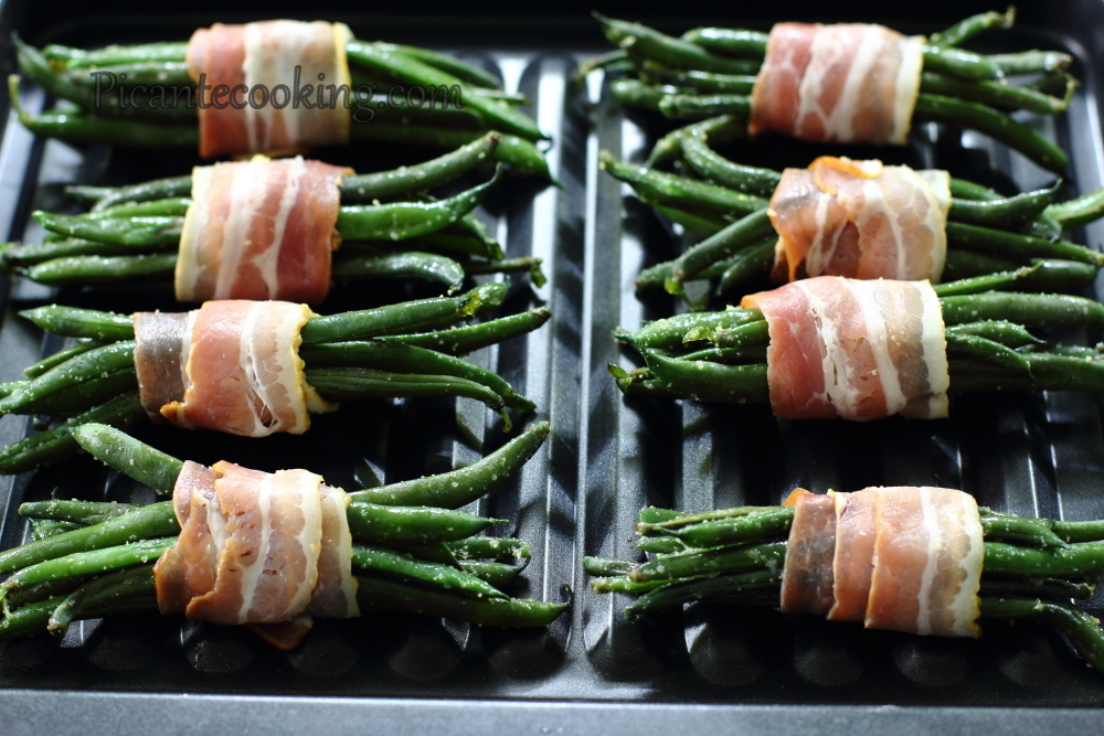 String beans in bacon3.JPG