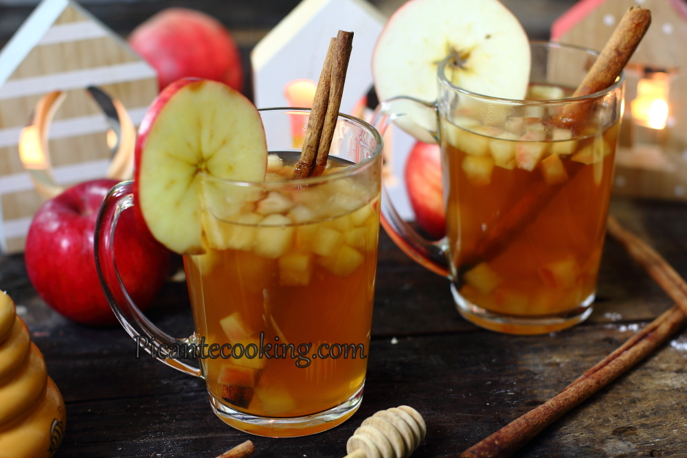 apple juice with honey5.JPG
