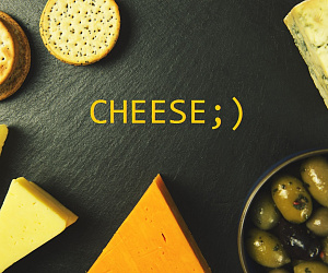 CHEESE!!! ;)